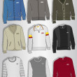 Royalty-Free Stock Imagem Vetorial: Designs sweaters men