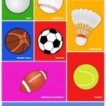 Sport icon metro style — Stock Vector