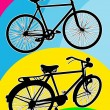 Bicycle silhouette — Stock Vector #23729351
