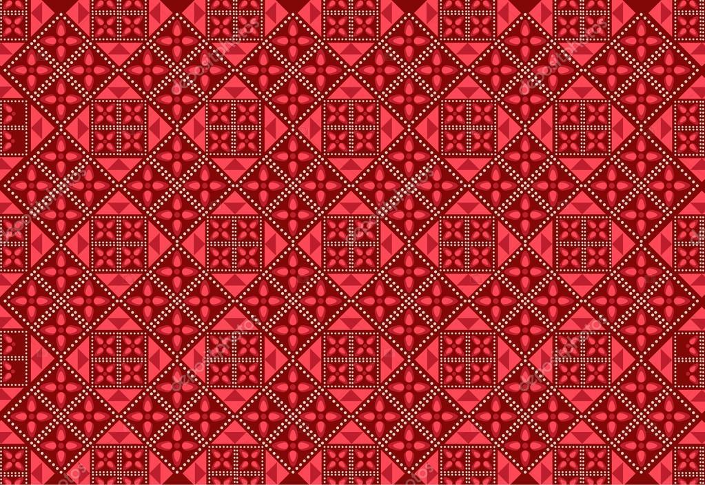 Background Batik hd Background Batik h — Vector by