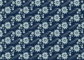 Batik blue 2 — Stockvector