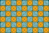 фон батик p — Cтоковый вектор