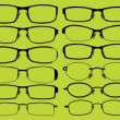 Kinds of glasses 2 - Stock Vector