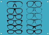Kinds of glasses 3 — Stock Vector