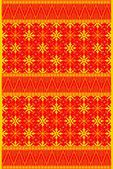 Background batik orange — Stock Vector