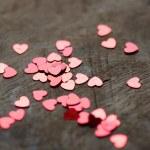 Glitter hearts — Stock Photo #19610055