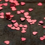 Glitter hearts — Stock Photo #19610257