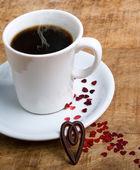 咖啡与爱情 — 图库照片