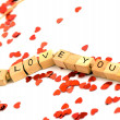 Foto Stock: I love you