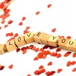 Foto de Stock  : I love you
