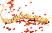 Ich liebe dich — Stockfoto