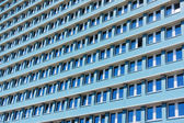 Blue building in former GDR Berlin — Stock Photo