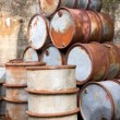Rusty Oil Drums — Stockfoto #17468225