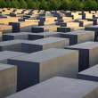 Stock Photo: Berlin Holocaust memorial