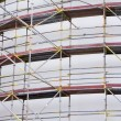 Scaffolding at Construction Site — Stok Fotoğraf #17826341