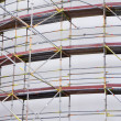 Scaffolding at Construction Site — Stockfoto #17826341