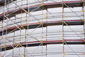 Scaffolding at Construction Site — Stok fotoğraf
