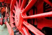 Rouge locomotive — Photo