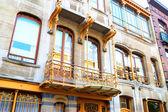 Art Nouveau in Brussels — Stock Photo
