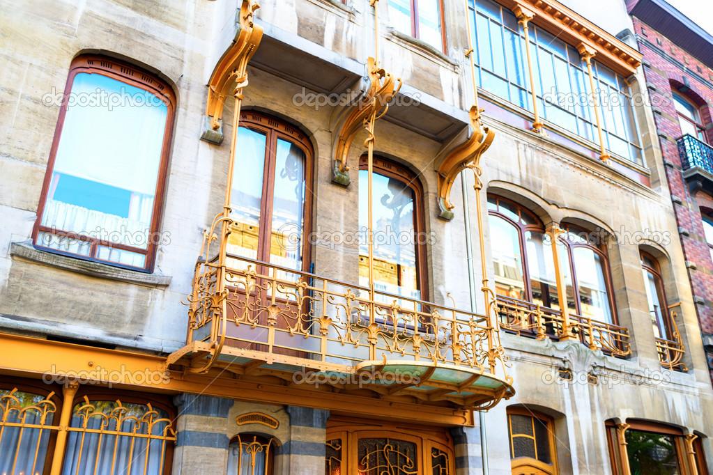 Art nouveau br ksel stok foto hindenberg 18266331 Art nouveau arquitectura
