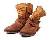 Women's autumn shoes — Stock Photo