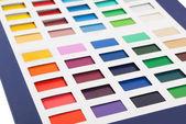 Colour card — Stock Photo