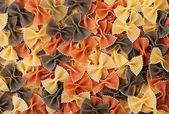 Pasta farfalle — Foto Stock
