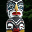 Detail of totem pole — Stock Photo #17637011