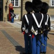 Guards in front of Danish royal palace — Stock Photo