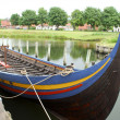 Replica of a viking ship — Stock Photo