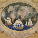 Commemorative plaque for seafarers — Stock Photo #18653047