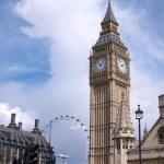 Torre dell'orologio Big ben — Foto Stock #18653059