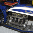 Vintage Henderson motorbike - Stock Photo