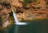 Waterfall in Portuguese landscape — Stock Photo