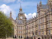 Big Ben clock tower and Houses of Parliament — Stock Photo