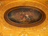 Ceiling inside Kensington Palace, London — Stock Photo