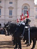 Household Cavalry at Horse Guards Parade — Stock Photo