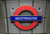 ロンドン地下記号 — ストック写真