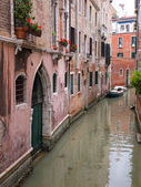 Quiet canal in Venice — Stock Photo