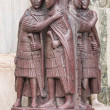 The Four Tetrarchs statue — Stock Photo