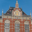 Royalty-Free Stock Photo: Exterior of main train station  in Amsterdam