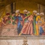 St. Mark's basilica mosaic in Venice — Stock Photo