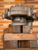 Oil press — Stock Photo
