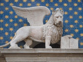 Winged lion of Venice — Stock Photo