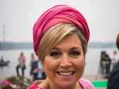 Queen Maxima of the Netherlands, spouse of King Willem-Alexander — Stock Photo