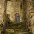 Steps at Battle Abbey at Hastings — Stock Photo