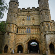 Gates at Battle Abbey at Hastings — Stock Photo