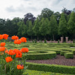 Gardens at Het Loo Palace, Netherlands — Stock Photo