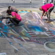 Street painting in 3D — Stock Photo #34877809