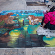 Street painting — Stock Photo #34898491